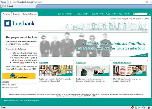 Nueva web Interbank