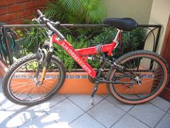PI Bike - Old wheel